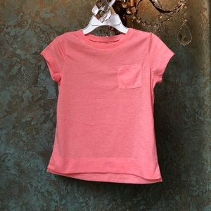 Little girls 4 Peach /Coral colored summer top